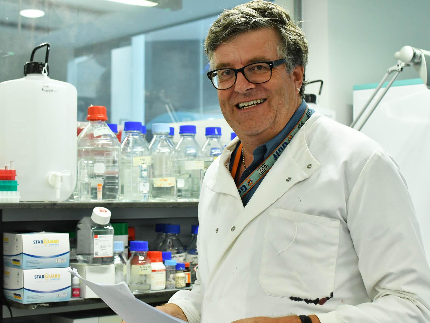 Professor Mike Philpott